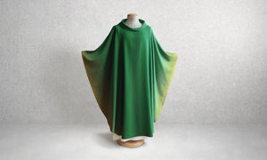 Joseph Woven Chasuble in Green