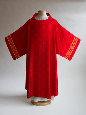 Classic Francis <br> Dalmatic <br> in Lucia Red