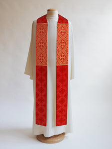 Classic Francis <br> Stole <br> in Lucia Red