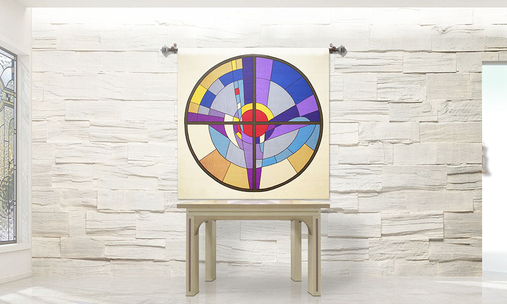 Stained Glass <br> Wall Hanging