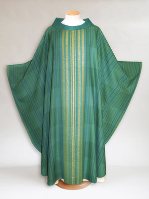 Terra Woven Chasuble in Green