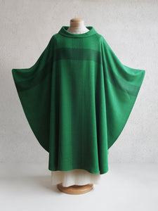 Barnabas Woven Chasuble in Green