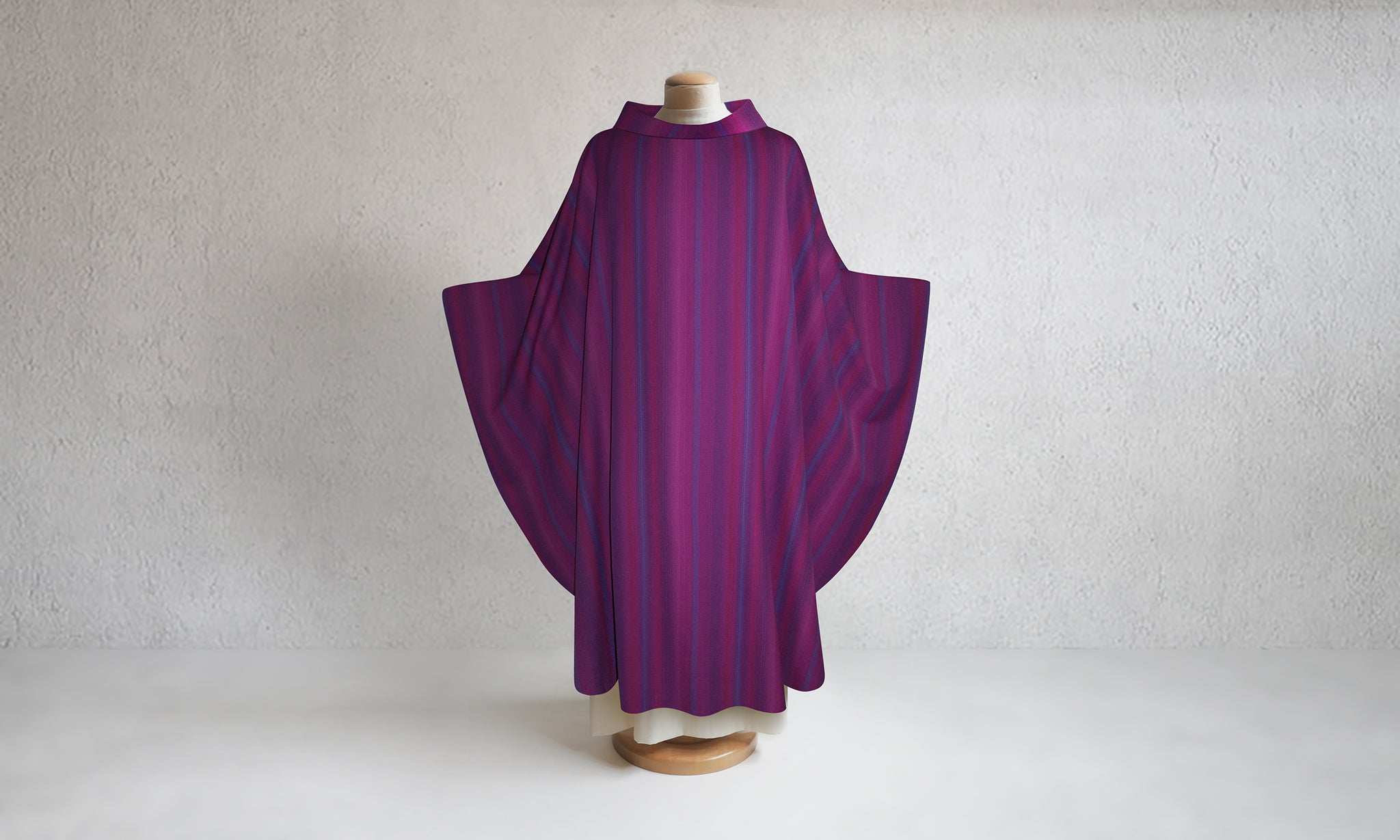 Mystique Woven Chasuble in Purple