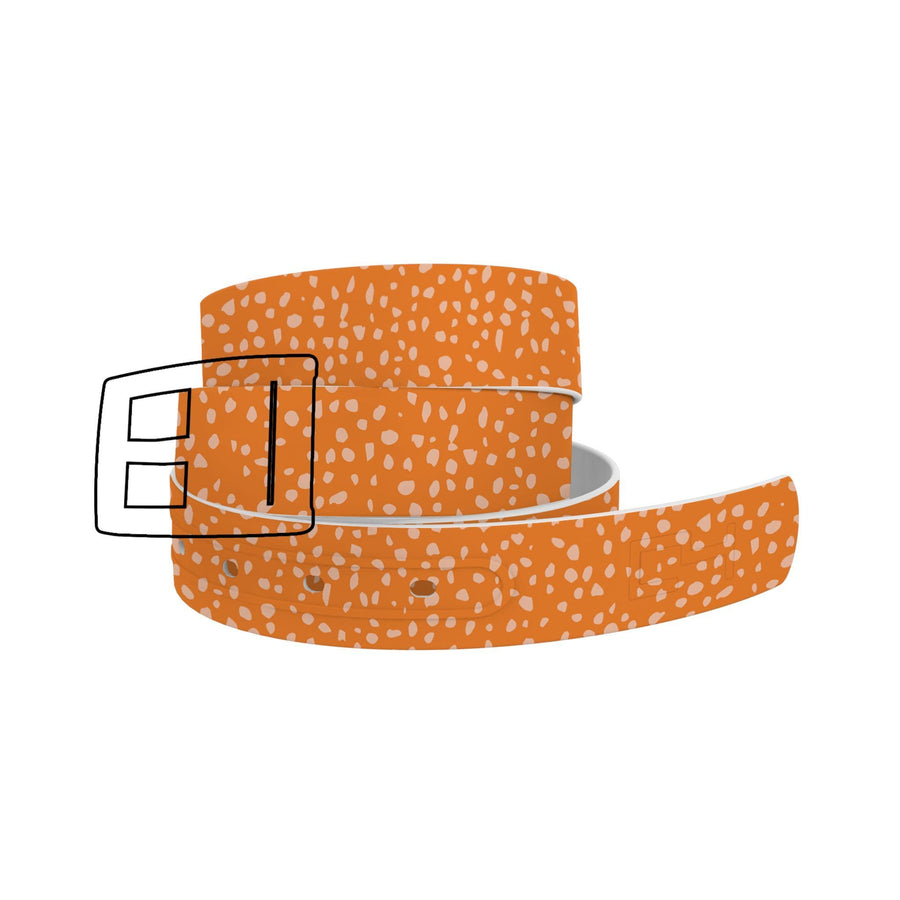 Pumpkin Flecks Orange Belt Belt-Classic C4 BELTS