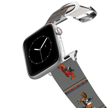 Horse on the L O O S E - Disciplines Apple Watch Band Apple Watch Band C4 BELTS