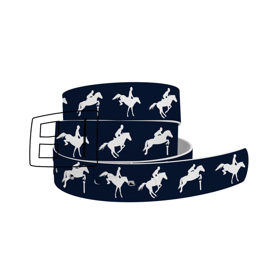 EQ Jump Navy Belt Belt-Classic C4 BELTS
