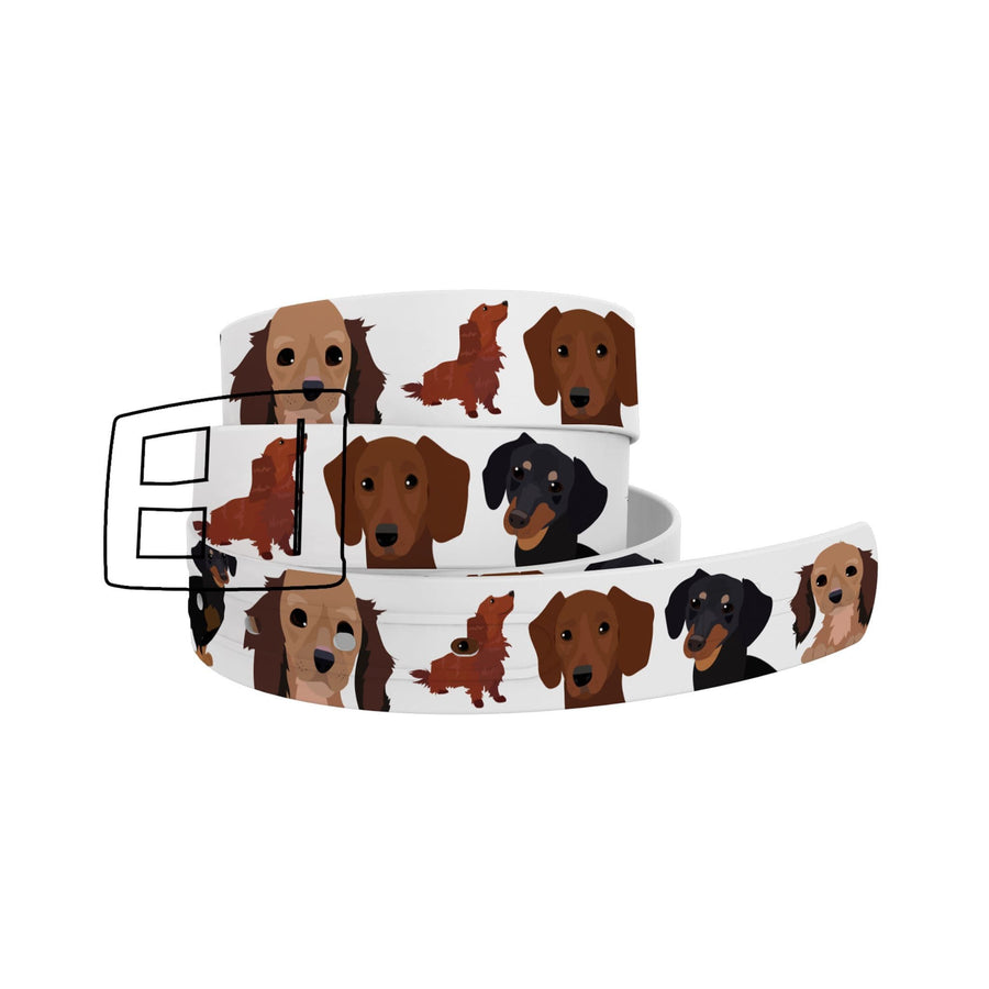 Matching Dachshund Belt Ghost Belt C4 BELTS