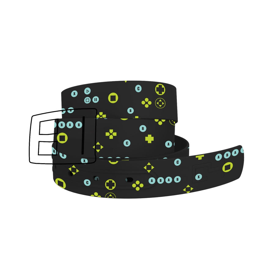 Video Game Buttons Belt Belt-Classic C4 BELTS