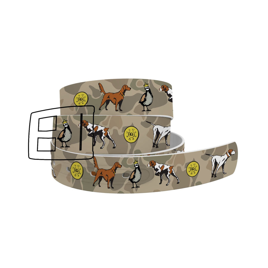 Dogs and Camo Belt Belt-Classic C4 BELTS