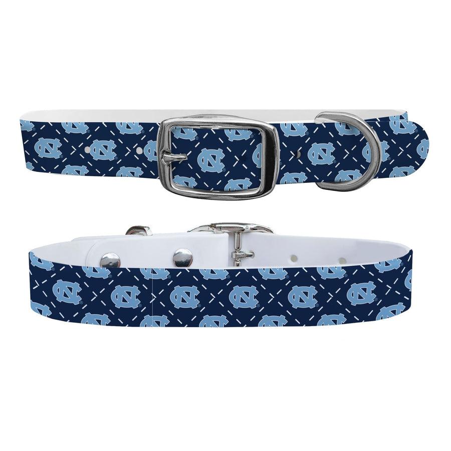University of North Carolina Argyle Dog Collar Dog Collar C4 BELTS
