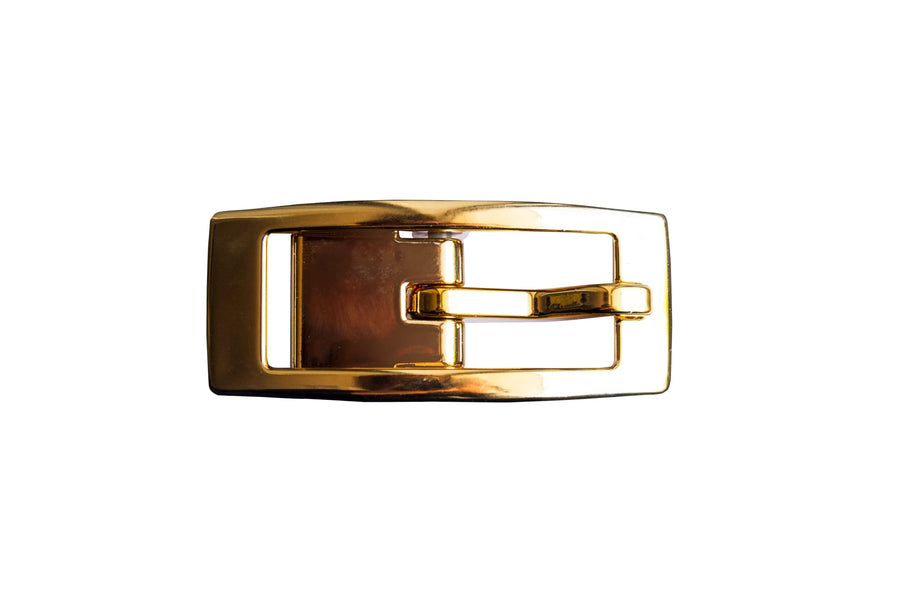 Gold Chrome Skinny Buckle Buckle-Skinny C4 BELTS