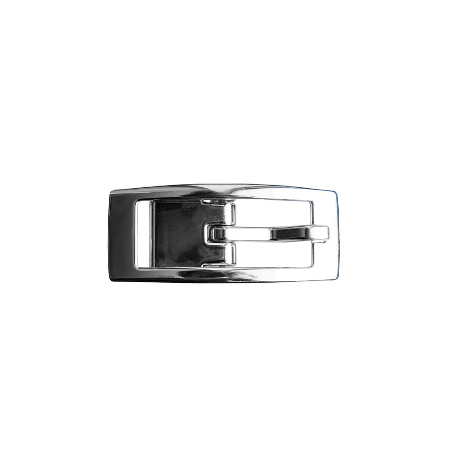 Silver Chrome Skinny Buckle Buckle-Skinny C4 BELTS