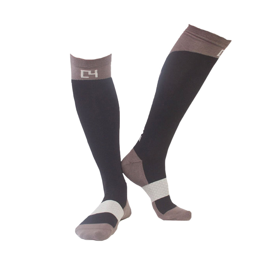 High Performance Riding Socks - Black socks C4 BELTS