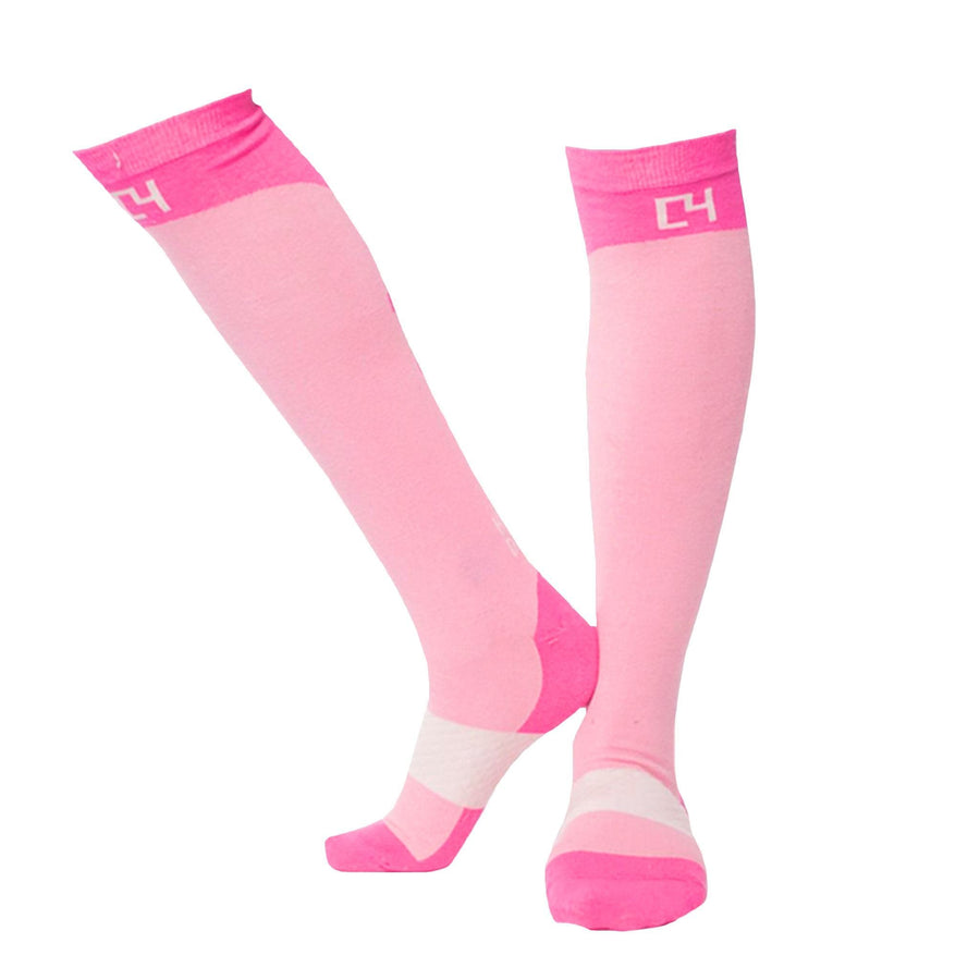 High Performance Riding Socks - Pink socks C4 BELTS