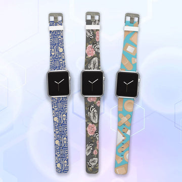 The Doctor is In Apple Watchband Three Pack Bundle Product-Bundle C4 BELTS