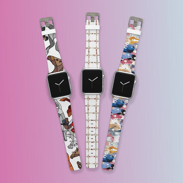 Equestrian Apple Watchband Three Pack Bundle Product-Bundle C4 BELTS