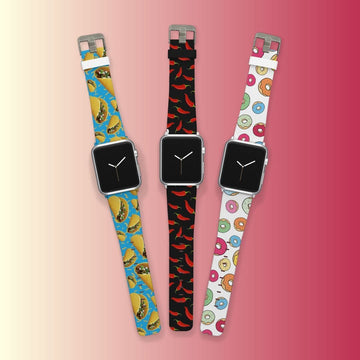 Foodie Apple Watchband Three Pack Bundle Product-Bundle C4 BELTS