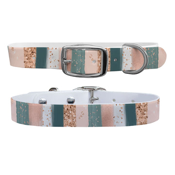 Blush Strokes Dog Collar Dog Collar C4 BELTS