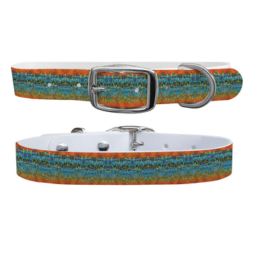 Brook Trout Scales Collar Dog Collar C4 BELTS