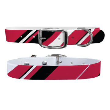 Chicago Bulls Color Block Team Spirit Dog Collar Dog Collar C4 BELTS