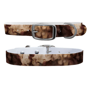 Coffee & Cream Dog Collar Dog Collar C4 BELTS