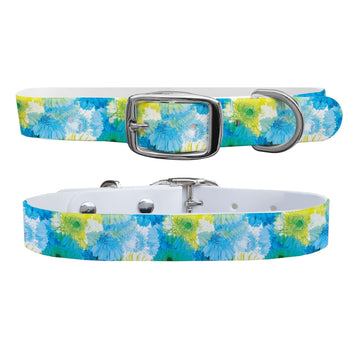 Flower Pop Dog Collar Dog Collar C4 BELTS