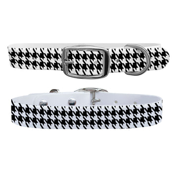 Houndstooth Team Spirit Dog Collar Dog Collar C4 BELTS