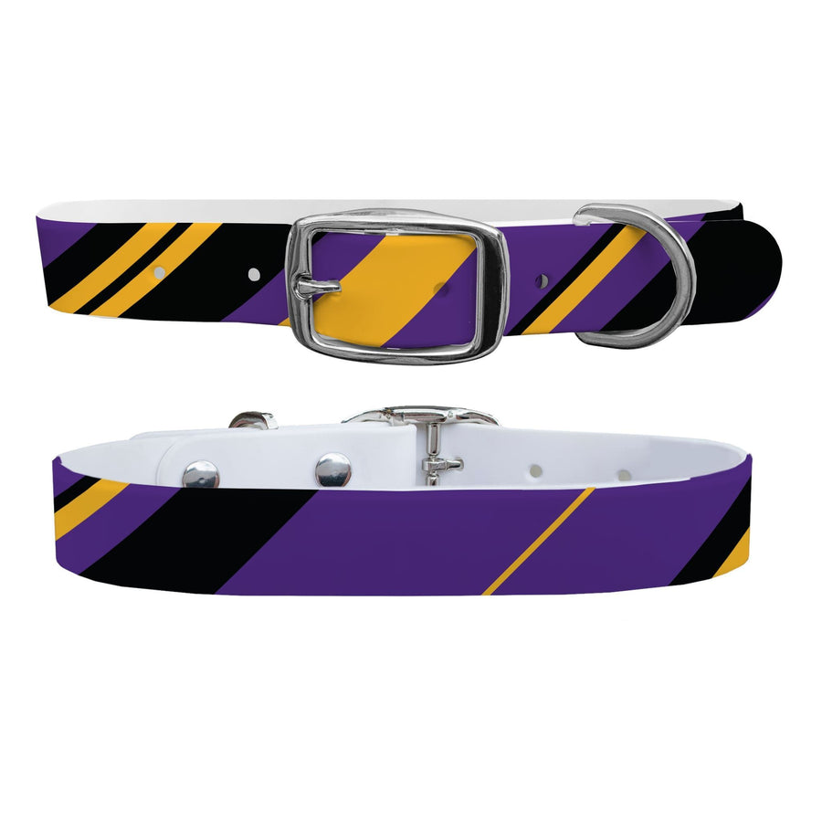 Los Angeles Lakers Color Block Gameday Dog Collar Dog Collar C4 BELTS