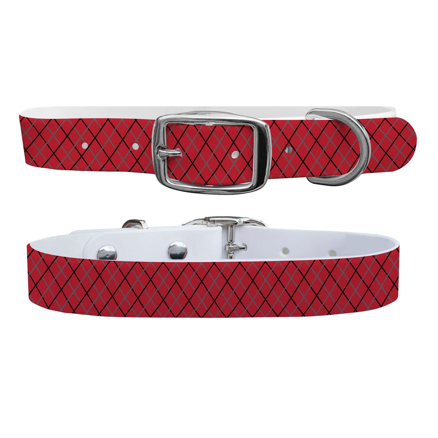 Ohio State Team Spirit Grid Dog Collar Dog Collar C4 BELTS