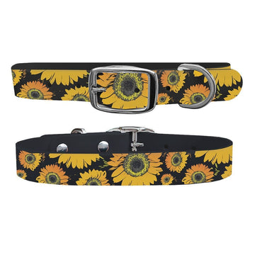 Sunflower Dog Collar Dog Collar C4 BELTS