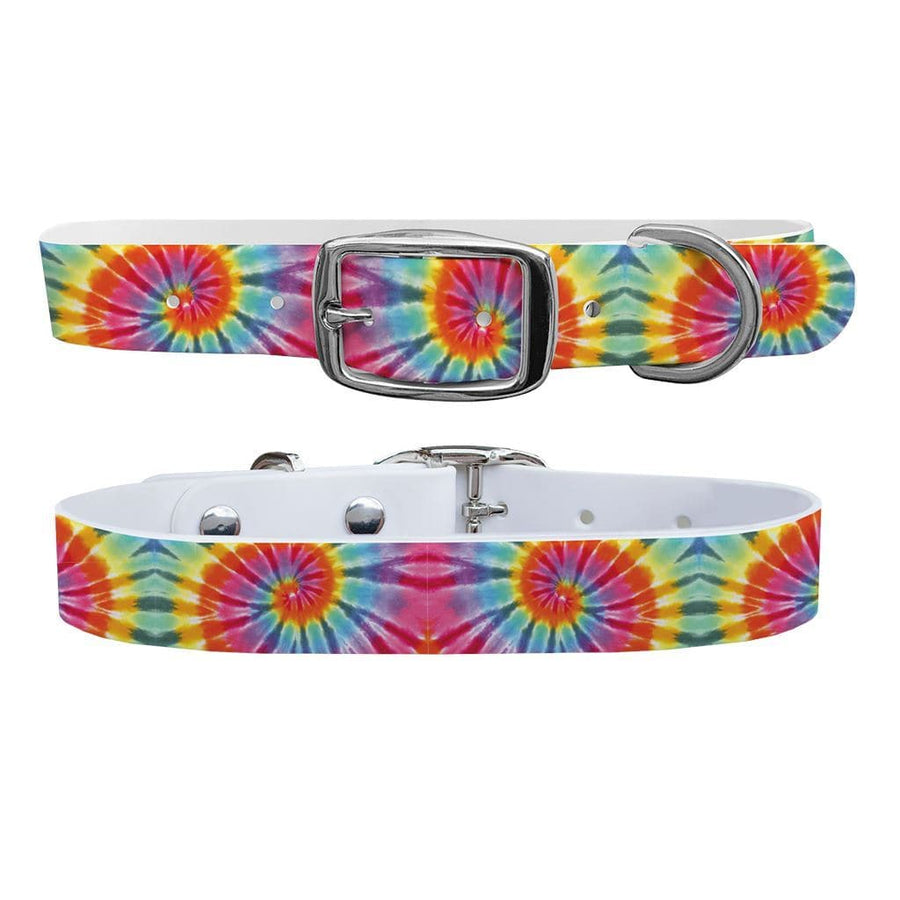 Tie Dye Swirl Dog Collar Dog Collar C4 BELTS