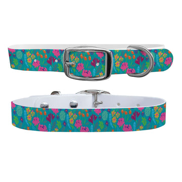 Wildflowers Dog Collar Dog Collar C4 BELTS