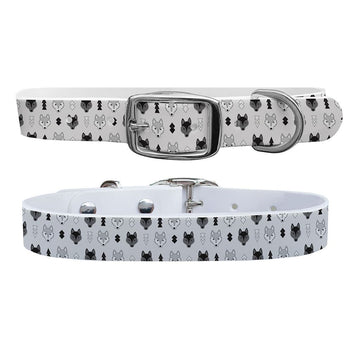 Wolves Dog Collar Dog Collar C4 BELTS