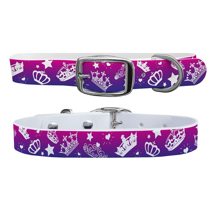 Bling Crowns Dog Collar Dog Collar C4 BELTS