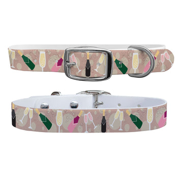 A little Bit of Bubbly Dog Collar Dog Collar C4 BELTS