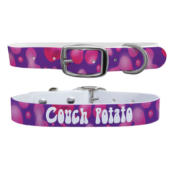 Couch Potato Dog Collar Dog Collar C4 BELTS