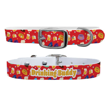 Drinking Buddy Dog Collar Dog Collar C4 BELTS