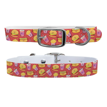 Fast Food Dog Collar Dog Collar C4 BELTS