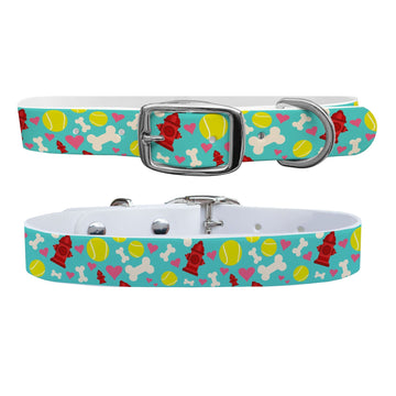 Fire Hydrant Love Dog Collar Dog Collar C4 BELTS
