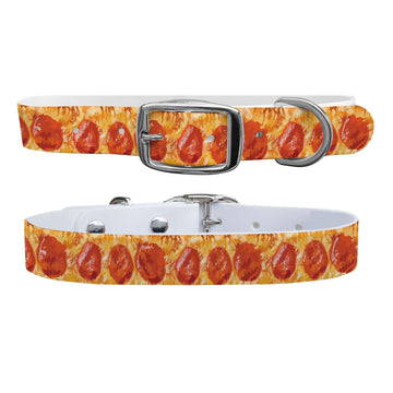 Pizza Dog Collar Dog Collar C4 BELTS