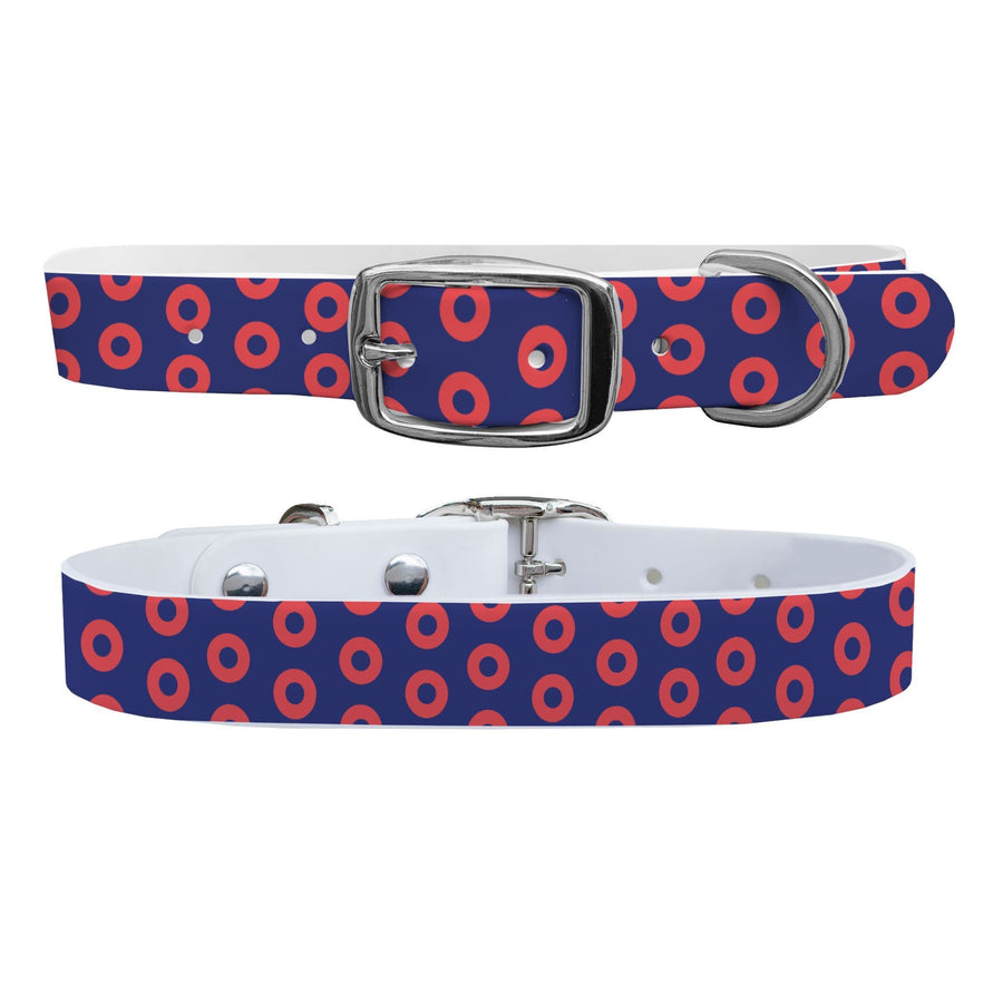 Red Donuts Dog Collar Dog Collar C4 BELTS