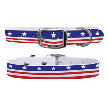 Americana Throwback Dog Collar Dog Collar C4 BELTS