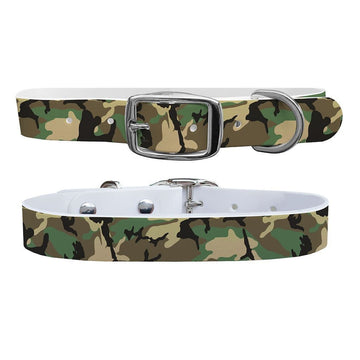 Khaki Camo Dog Collar Dog Collar C4 BELTS