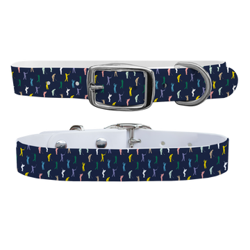 Fore - Navy Dog Collar
