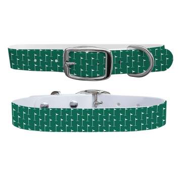 Hole in One - Green Dog Collar
