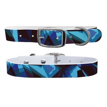 Rocky Camo Blue Dog Collar Dog Collar C4 BELTS