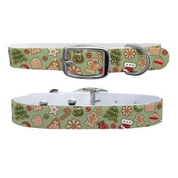 Gingerbread Dog Collar Dog Collar C4 BELTS