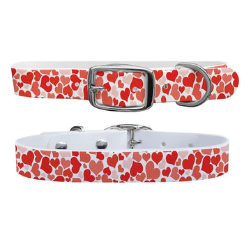 Hearts Dog Collar Dog Collar C4 BELTS