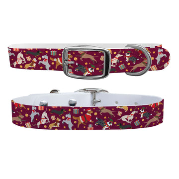 Happy Pawlidays Dog Collar Dog Collar C4 BELTS