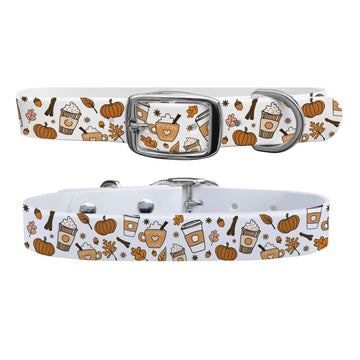 Pumpkin Spice Dog Collar Dog Collar C4 BELTS